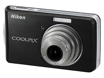 Coolpix S520 Digital Camera (Graphite Black)