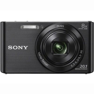 DSC-W830 Cyber-shot 20.1MP 2.7-Inch LCD Digital Camera - Black - OPEN BOX