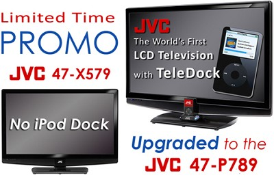 LT-47X579 - 47` Hi-definiton 1080p LCD TV (Upgraded to LT-47P789 with iPod Dock)