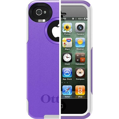 OB iPhone 4S Commuter - Purple 10 / White