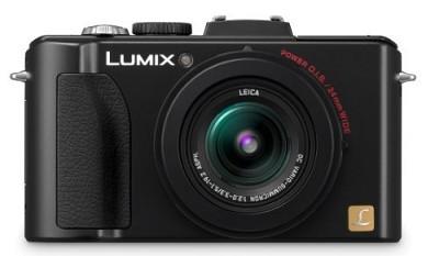 Lumix DMC-LX5 Digital Camera (Black) - OPEN BOX