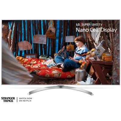SUPER UHD 60` 4K HDR Smart LED TV (2017 Model) - Refurbished
