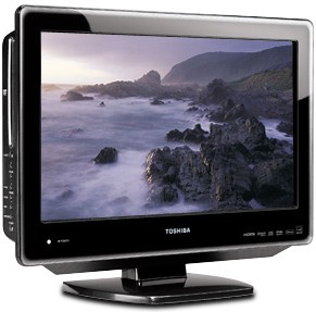 22LV610U - 22` High-definition LCD TV w/ built-in DVD Player (Hi-Gloss Black)