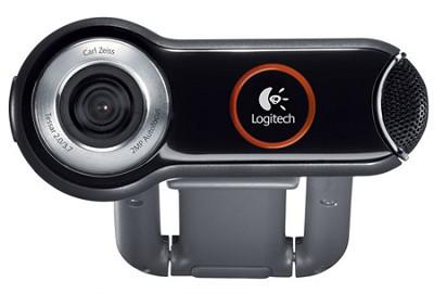 QuickCam Pro 9000 2-Megapixel Webcam w/ Carl Zeiss Glass Lens