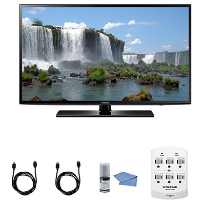 UN40J6200 - 40-Inch Full HD 1080p 120hz Smart LED HDTV + Hookup Kit