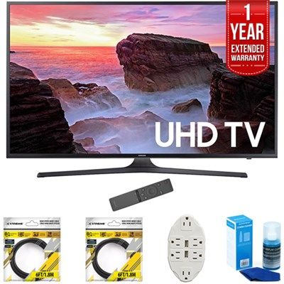 40` 4K Ultra HD Smart LED TV 2017 Model with Extended Warranty Kit