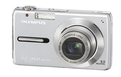 FE-350 8MP Digital Camera (Silver)