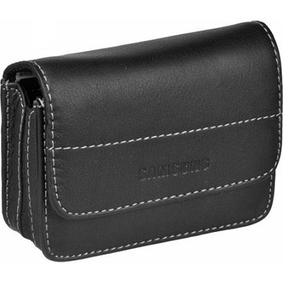Stylish Black Leather Case for NV and L Series Cameras