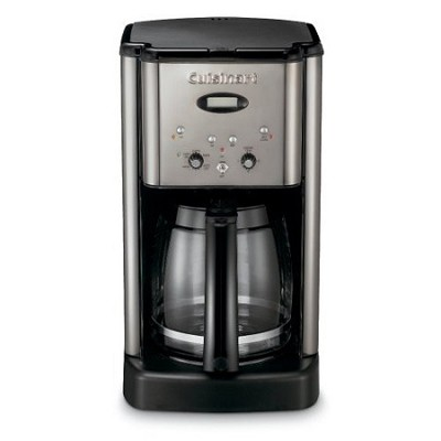 DCC-1200BCH Brew Central 12 Cup Programmable Coffeemaker (Black Chrome)