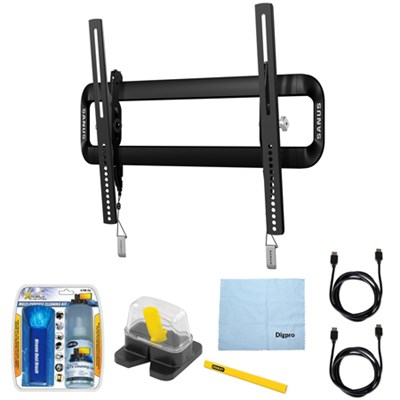 40`-50` Premium Series Tilt Wall Mount for Flat-Panel TV w/Accessories Kit