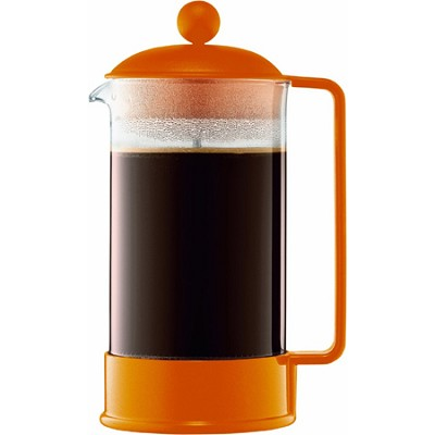 Brazil 8-Cup French Press Coffee Maker, 34-Ounce - Orange