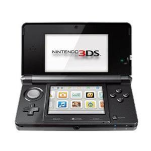 3DS Portable Gaming Console Cosmo Black CTRSKAAR-OPEN BOX