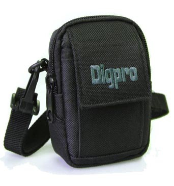 Small Digital Camera Deluxe Gear Carrying Case - DP2000