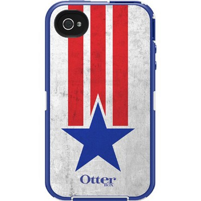Anthem Collection Defender Case for iPhone 4/4S - Stars/Stripes - OPEN BOX