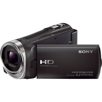 HDR-CX330/B Full HD 60p Camcorder