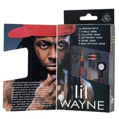 RBW-4928 - Lil Wayne In-Ear Buds Window Box
