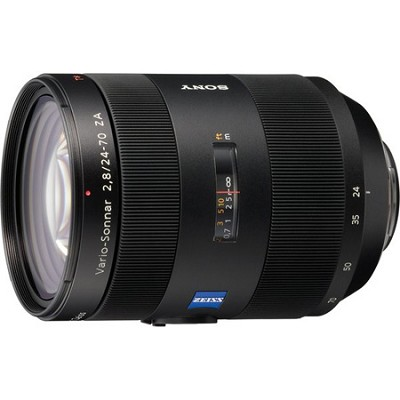 SAL2470Z - Carl Zeiss Vario-Sonnar T 24-70mm f2.8 Zoom Lens for Alpha DSLR's