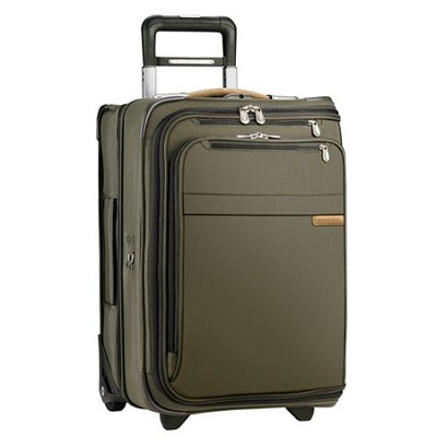 U175-7 Baseline 21` Domestic Carry-On Upright Garment Bag - Olive