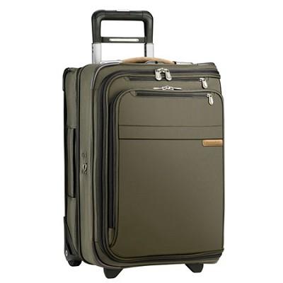 U175-7 Baseline 21` Domestic Carry-On Upright Garment Bag - Olive