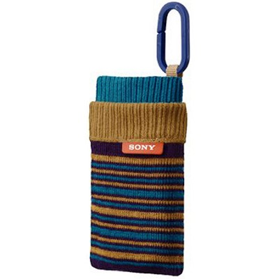 LCS-CSZ/L - Sock-like Case (Striped Blue)