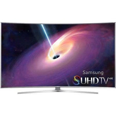 UN55JS9000 Curved 55` 2160p 3D Smart Full 4K SUHD LED TV UN55JS9000FXZA