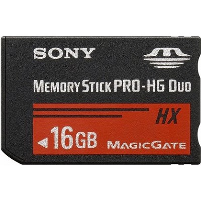 16 GB Memory Stick  PRO-HG DUO HX High Speed