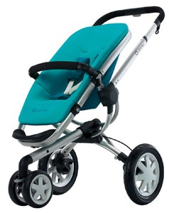 Buzz 3 Wheel Stroller (Capri)