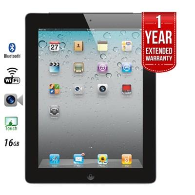 iPad 2 16GB with Wi-Fi - Black (MC769LL/A) Certified Refurbished