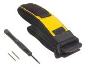 Velcro wrist and expander Strap (replacement, yellow)
