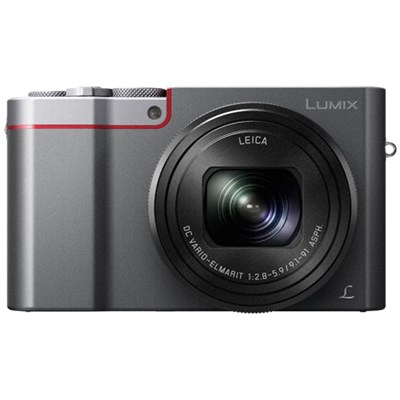 ZS100 LUMIX 4K 20 MP Digital Camera w/ Wi-Fi - Silver (DMC-ZS100S) - ***AS IS***