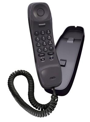 Slimline Corded Phone - Black