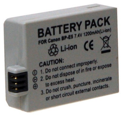 BP-E5 1200mAh Replacement Battery Pack for Canon LP-E5 - for Rebel XS, XSi