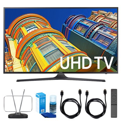 50` 4K UHD HDR Smart LED TV - UN50KU6300 w/ TV Cut the Cord Bundle