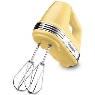 Power Advantage 5-Speed Hand Mixer, Light Yellow - HM-50LY