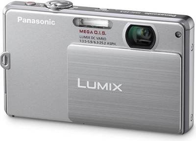 DMC-FP3S LUMIX 14.1 MP Digital Camera (Silver)
