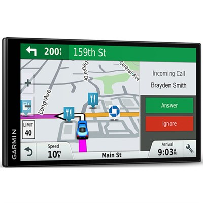 DriveSmart 61 NA LMT-S 6.95` GPS w/ Smart Features Refurbished 1 Year Warranty