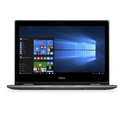 Inspiron i5378-7171GRY 13.3` FHD 7th Gen Intel Core I7-7500U 2-in-1 Laptop, Gray