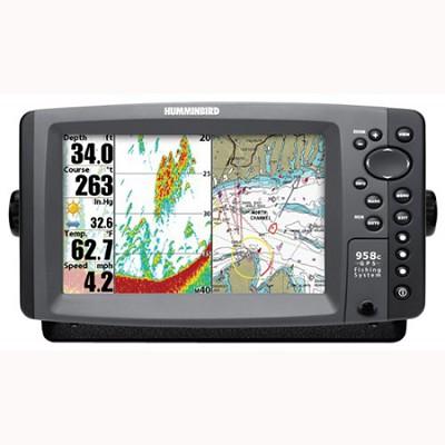 958c Combo 8-Inch Waterproof Marine GPS Fishfinder (4077501)