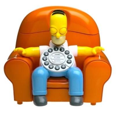 Homer Simpson Animated Talking Telephone {027220}