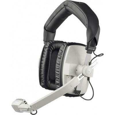 DT-109-200-400-GREY Closed Headset with Dynamic Hypercardioid Microphone