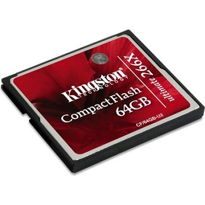 64GB Ultimate Compact Flash 266x Memory Card