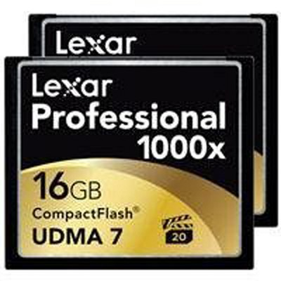 16 GB Professional 1000x CF (Thin Box) 2-Packs (LCF16GCTBNA10002)