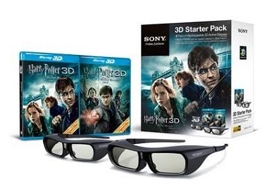 Harry Potter 3D Starter Kit  - OPEN BOX