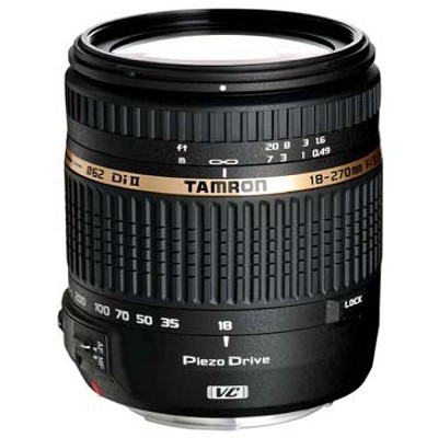 18-270mm f/3.5-6.3 Di II VC PZD IF Lens w/Built in Motor For Nikon - Refurbished