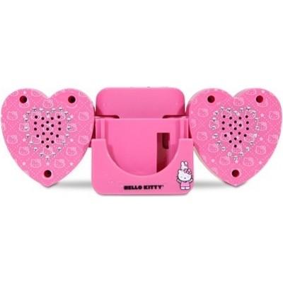 Hello Kitty Mini Foldable Speaker for Ipod, Mp3, DVD & Cd Players