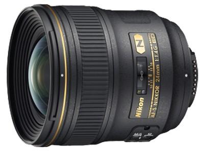 24mm F/1.4G ED AF-S Wide-Angle Lens - REFURBISHED