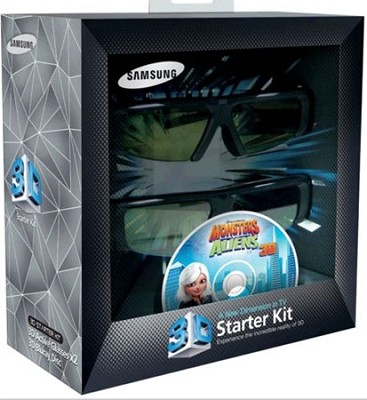 SSG-P2100T 3D Starter Kit Glasses and Blu Ray