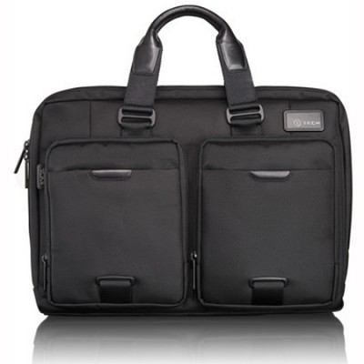 T-Tech By Tumi Network T-Pass Slim Laptop Brief (58516)(Black)