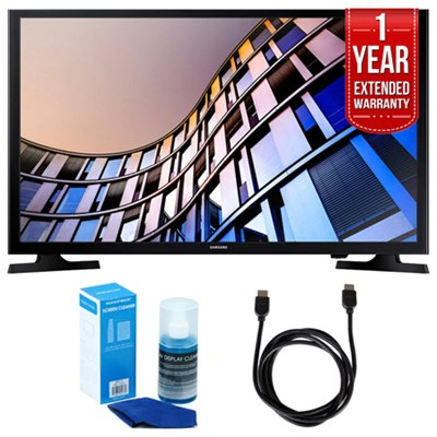 32-Inch 720p Smart LED TV (2017 Model) + Extended Warranty Bundle