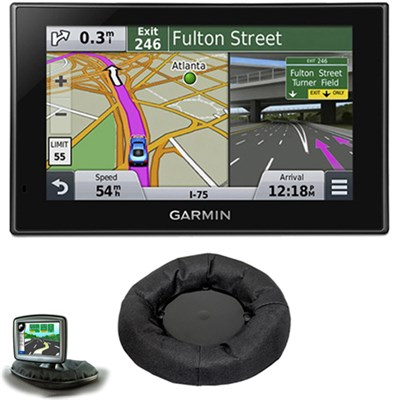 nuvi 2539LMT Advanced Series 5` GPS Navigation System Dash-Mount Bundle